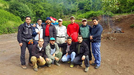 کوهنوردی پیمایشی تیم کوهنوردی مرکز قلب و عروق شهید رجایی دریاچه نئور به سوباتان-ویژه آقایان