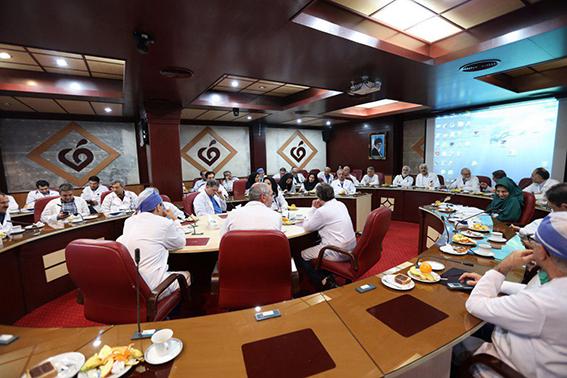 برگزاری جلسه کمیته مورتالیتی 16 بهمن ماه 1396 در مرکز قلب و عروق شهید رجایی